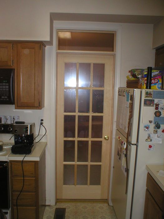 Single Door With Transom At Bh08 Roccommunity