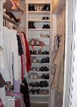 Shoe Shelves - Please note the finished edges on the unit