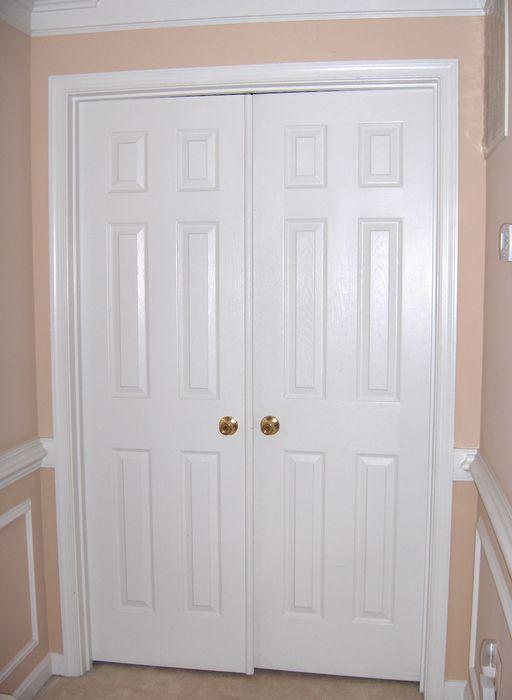 Double Swing Interior 6 Panel Doors